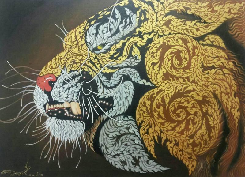 งานศิลปะเสือ